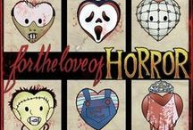 Oh the Horror!!! / Horror movies, scary films. Ghosts, vampires, zombies, werewolves, & psychopaths... / by Bunniboila