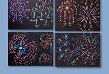 Käsityö-askartelu uusivuosi  Art & crafts HAPPY NEW YEAR