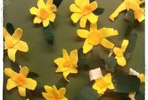 Käsityö-askartelu kevät Art & crafts SPRING