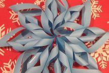 Käsityö-askartelu talvi Art & crafts WINTER
