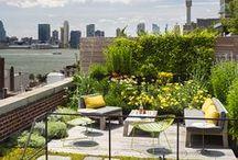 Rooftop terrace / Inspiratie voor het inrichten en stylen van je dakterras.