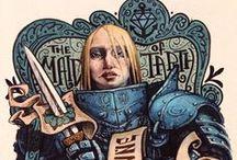 Warriors, Vikings, Swordsmen/women, Archers / Warriors / by Bunniboila