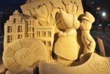Ice, Snow & Sand Sculptures