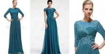 An elegant mother on the wedding   ebProm Mother of the Bride Dresses / Elegant and modest mother of the bride and groom dress with trendy fashion element, more info visit our page! http://www.ebprom.com/wedding-party-dresses-mother-of-the-bride-dresses_c11