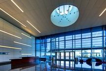 Reception Areas / Our state-of-the-art reception ares and administration offices