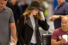 Star Street Styles   Airport styles of celebrities / Wanna be fashionable? Follow the star street snaps to have the most trendy ideas!