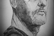 Sketching / Technical drawings I like