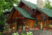 Log Cabins / Wonderful log cabins & Rustic home.