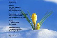 Şiirlerim - My poetry / Yüreğimden geçenler - My heart passersby