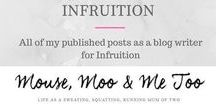 My Blogs for Infruition / Blogs that I've written for my gorgeous pals over at Infruition.