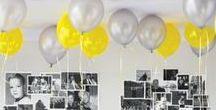 60ster im Frühling / So könnte eine frühlingshafter Geburtstag aussehen...