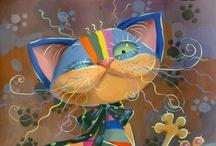 Cat Art  ☆:*´¨`*:..:*´¨`*:.☆