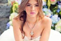 Hääkoruja - Wedding Jewelry / Ideoita morsiamen hääkoruihin ja hääpäivän asusteisiin. Bridal jewelry and accessories, wedding fashion.