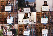 """""""I, too am Havard...Oxford...ENA...Cambridge...NYU...Iowa...Berkeley...Notre Dame & UCT / Photos de la campagne anti-racisme lancée par des étudiants de l'ENA sur le modèle d'autres étudiants d'Harvard, Oxford, Cambridge, NYU, Iowa, Berkeley, Notre Dame & UCT."""