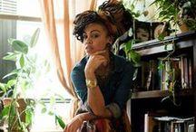 Biloa Wardrobe - Denim & African prints