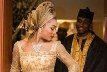 Afro Wedding inspirations / Des idées look pour mariage et autres cérémonies afro.