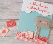My cards / Mis tarjetas / Quizás mi proyecto scrapero favorito: ¡tarjetas!
