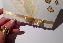 Wedding cards / invitations by Karuna Handmade / Handmade cards