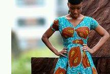 Biloa Wardrobe - Maxi dresses & Skirts / Maxi dresses & Skirts, african wax prints