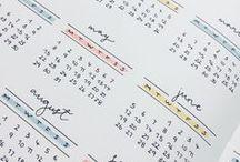Bullet Journal / Planner Ideas