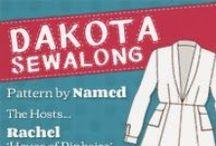 Dakota Sewalong / Rachel (House of Pinheiro) and Marie (A Stitching Odyssey) are hosting a sewalong for the Dakota dress pattern by Named.