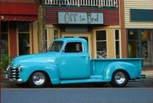Chevy and GMC Advance Design Pickups / Love them all...especially my own. ; >D / by Peter Cumberland
