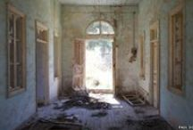 Abandoned Spaces / These are hauntingly beautiful and downright eerie at times!