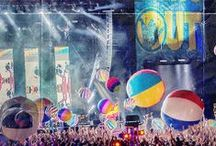 Hangout Music Festival / Hangout Fest is an annual 3-day concert held on the public beaches of Gulf Shores featuring many genres of music.