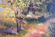 Meadows -Deborah Leonard Art