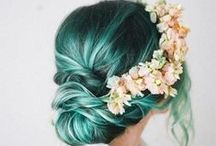 Hairspiration - Color / Outrageous or gorgeous colored hair to LOVE
