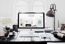 OFFICE / Office decor, home office, office inspo, office inspiration