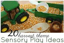Sensory Play / Find a variety of ways for your child to learn and play