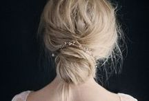 Special Occasion Hair / Showing ideas and inspiration on how to wear your hair on special occasions & fiestas!