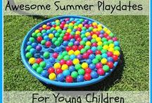 Summer Playtime / Keep your kids active and entertained this summer with any of these summer playtime and play day ideas!