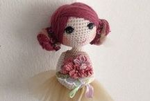 Magic crochet dolls