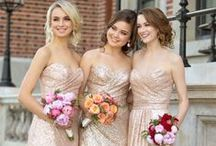 Modern Metallic: Golden Glow / Give your wedding day a romantic glow with these golden ideas! / by Essense of Australia
