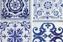 Tiles Mon Amour / ~ Since I was in Portugal I fall in love with their tiles. Now I want to arrange my home in Poland like this. Maybe some day... ~