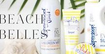 Beach Belles / Our favorite summer ready products for a day of fun in the sun!