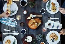 GATHER / Food styling, food gatherings, dinner parties, entertaining