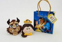 Bela e a Fera / Lembrancinhas de aniversário infantil para festas temáticas com a personagem a Bela e a Fera.