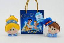 Cinderela / Lembrancinhas de aniversário infantil com a personagem Cinderela.