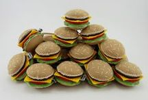 Fast Food / Lembrancinhas de fast food para festas temáticas de aniversário e outros eventos.