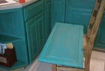 Paint FUN by Customers / Pieces painted by customers who used Amy Howard products, which we sell at Restoration Emporium