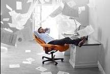 Stressless Home Office / Nieuw in de Stressless familie: Stressless Home Office. Een heerlijk comfortabele relax of bureaustoel. Met alle gepatenteerde Stressless functies.