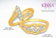 Diamond Rings / Latest real diamond rings designs from the leading and most popular diamond jewellery brand in India, KISNA.