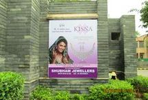 Out Door Media / KISNA outdoor media contains hoardings and posters of KISNA Advertisement in different cities of India. / by Kisna Diamond Jewellery