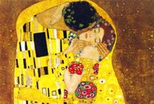 by Gustav Klimt / by Nick Porcino