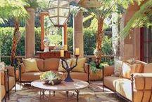 Porches , Verandas, Patios, Pergolas / I love porches, verandas, patios, pergolas; etc.