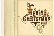Texas Christmas Cards / Few states are big enough or have enough state pride to have their own Christmas Cards. Texas just happens to have both. Check out these Texas Christmas Cards