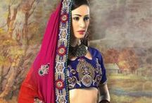 Saree With Embroidered Patch Work / Esha Deol Ghagra – Saree With Embroidered Patch Work Esha Deol In Exclusive Red Lehenga Saree with exquisitely thread & zari embroidered & stone work buttis and border along with net pallu with border enhancing the look of the saree.